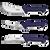 """Sharp – German Solingen Blade -  5"""" Boning, 6"""" Skinning & 6"""" Brisket"""