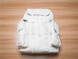 Louis Vuitton × Virgil AblohLOUIS VUITTON CHRISTOPHER GM BACKPACK M53270 virgil nigo White
