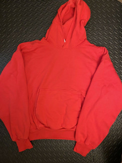 Gap x Yeezy YZY Kanye West Red Hoodie BRAND NEW IN HAND