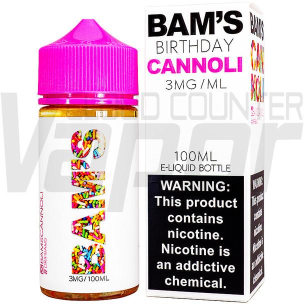 Bam's Cannoli - Birthday Cannoli