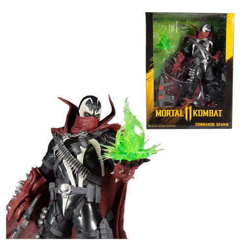 "Commando Spawn (Mortal Kombat) 12"" Figure"