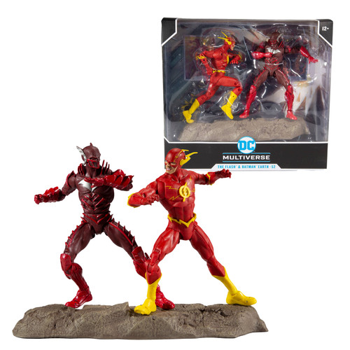 "Batman vs. Flash Earth 52 (DC Multiverse) 7"" Figure"