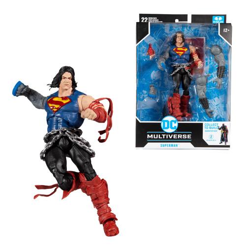 """Death Metal Superman (DC Multiverse) 7"""" Figure"""
