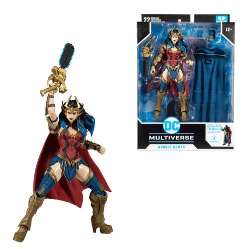 "Death Metal Wonder Woman (DC Multiverse) 7"" Figure"