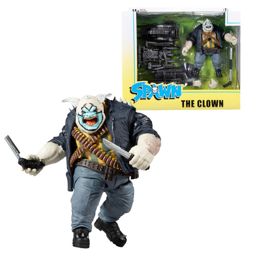 """The Clown (Spawn) Deluxe Set 7"""" Figure"""