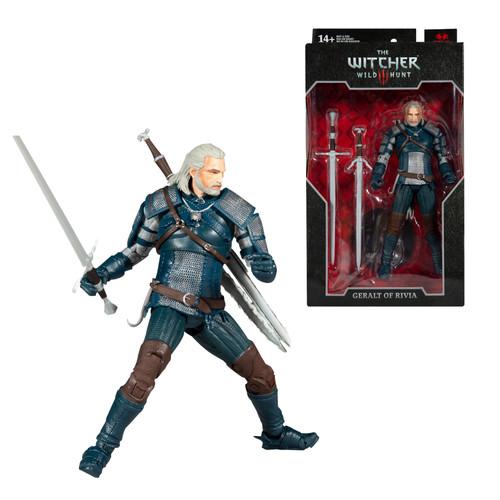 "Geralt of Rivia w/Viper Armor (The Witcher 3: Wild Hunt) 7"" Figure  (PRE-ORDER ships November)"