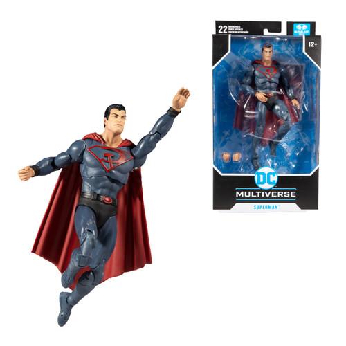 "Red Son Superman (DC Multiverse) 7"" Figure"