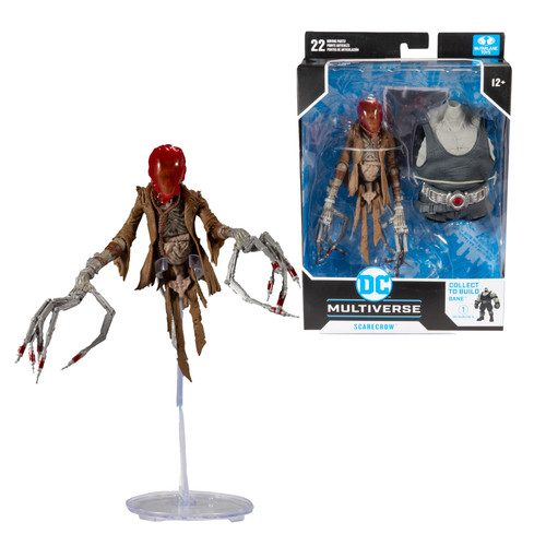 """Scarecrow (Last Knight on Earth) 7"""" Build-A-Figure"""