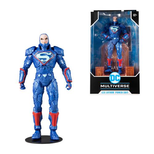 "Lex Luthor w/Blue Power Suit (DC Multiverse) 7"" Figure (PRE-ORDER ships November)"