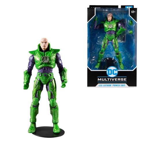 "Lex Luthor w/Green Power Suit (DC Multiverse) 7"" Figure (PRE-ORDER ships November)"