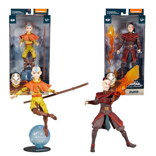 "Aang & Prince Zuko (Avatar: The Last Airbender) 7"" Figures Combo Set (2) (PRE-ORDER ships October)"