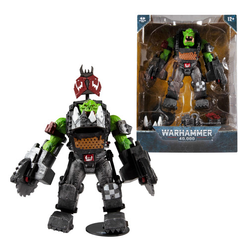 Ork Meganob w/Buzzsaw (Warhammer 40000) Mega Figure (PRE-ORDER ships November)
