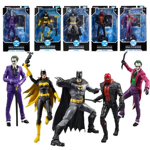 "Batman: Three Jokers Bundle Set (5) 7"" Figures (PRE-ORDER ships November)"