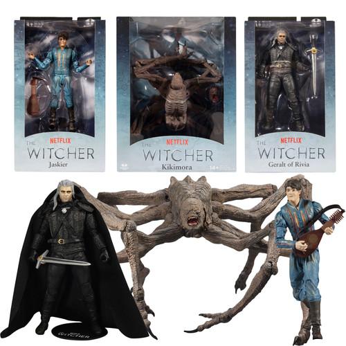 The Witcher - Netflix Bundle Set (3) Figures (PRE-ORDER ships November)