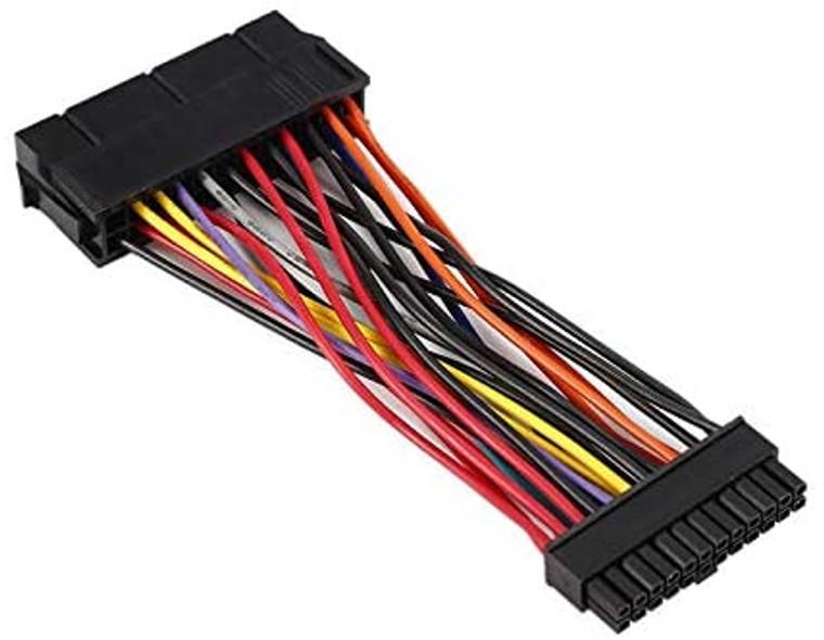 24 Pin to 24 Pin Micro ATX PSU Power Adapter for DELL PCs