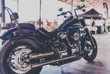 Harley Softail Rampage  Mufflers polished '18+