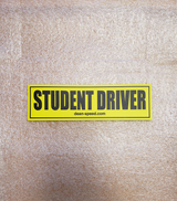 Dean Speed Student Driver Vehicle Magnet