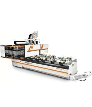 JET OPTIMA C21 - CNC WORKING CENTER