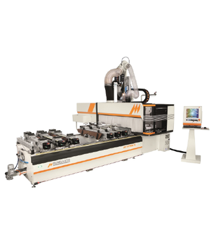 JET OPTIMA T5 - CNC WORKING CENTER (5 AXES)