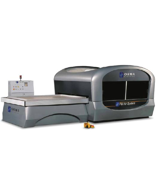 AIR SYSTEM 25/14 - MEMBRANE PRESS MACHINE