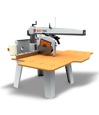 RADIAL ARM SAW - BEST 960 | ITALCOME