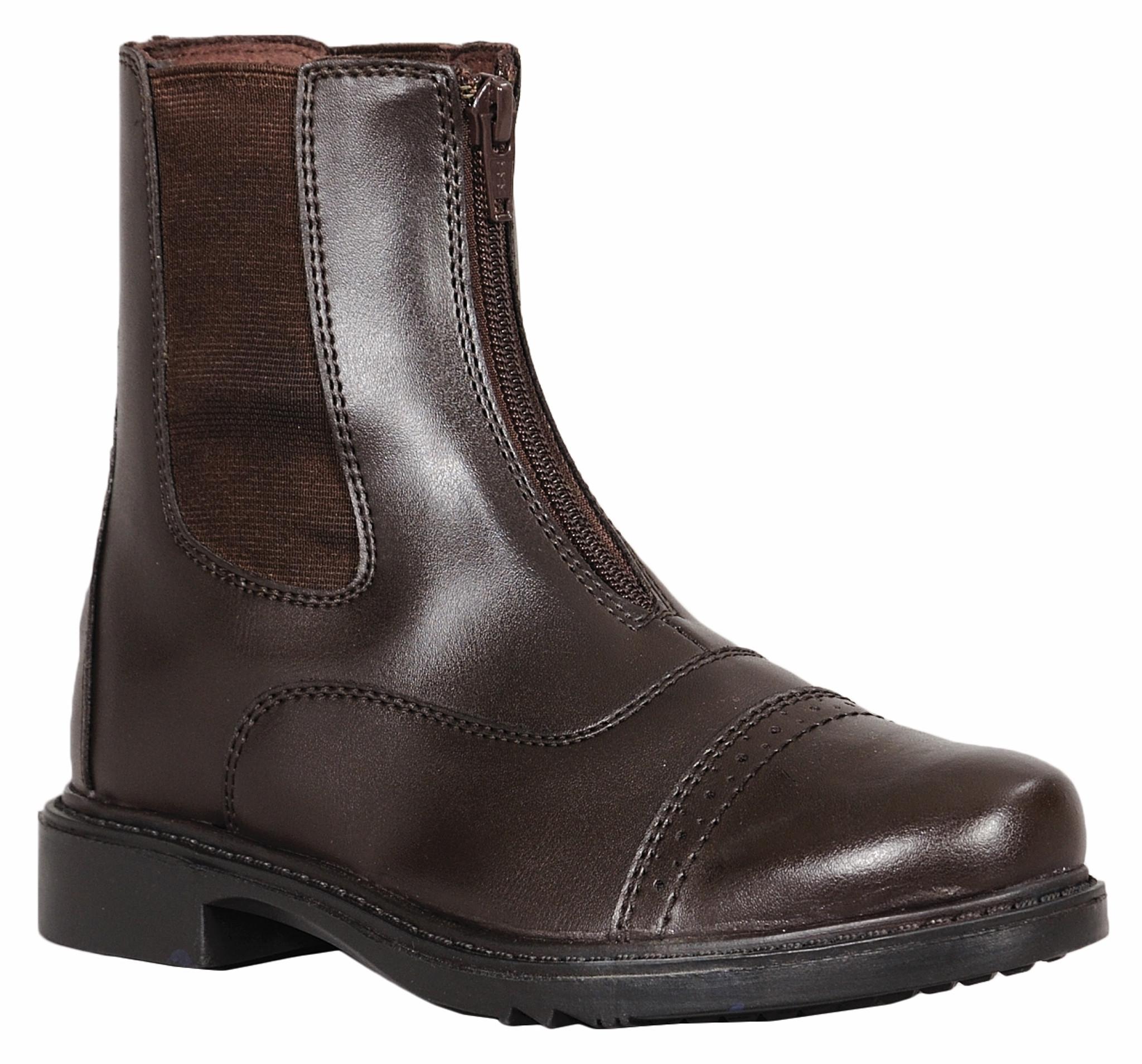 TuffRider Ladies Starter Front Zip Paddock Boots