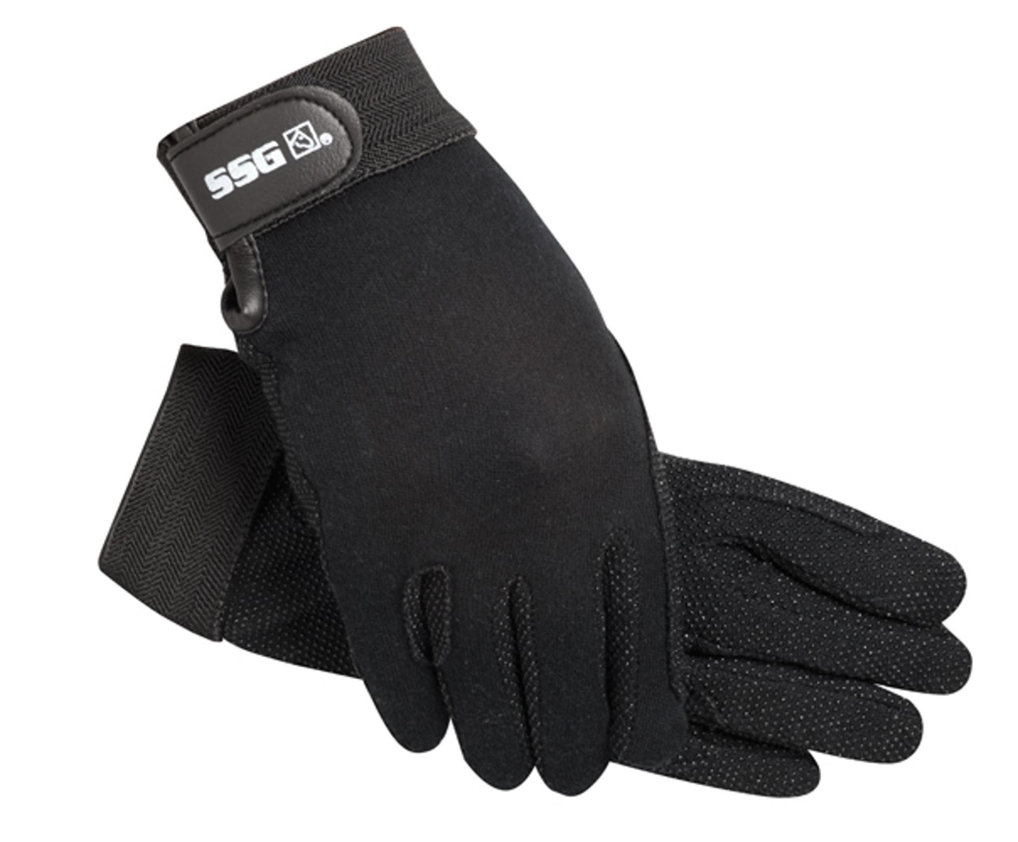 Cotton Pimple Riding Gloves