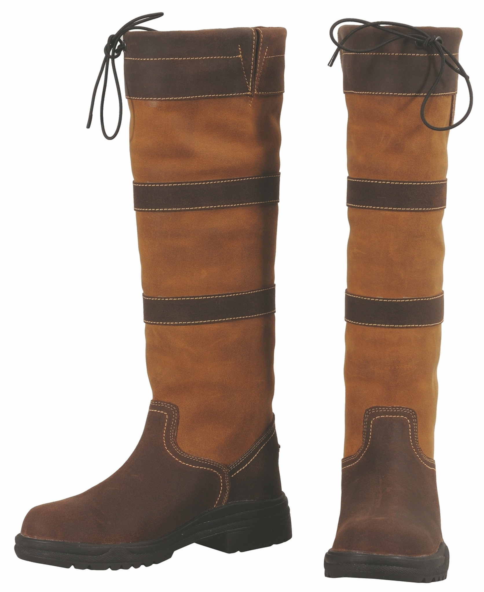 Tuffrider Ladies Lexington Waterproof Tall Boots Contrasting Suede