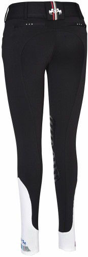 Equine Couture Fiona Breeches - black - back