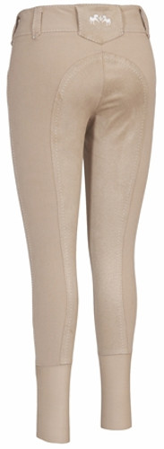 Equine Couture Blakely Full Seat Breeches - safari - back view