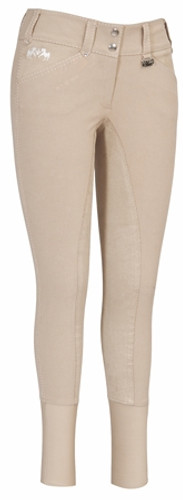 Equine Couture Blakely Full Seat Breeches - safari