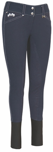 Equine Couture Blakely Full Seat Breeches - navy