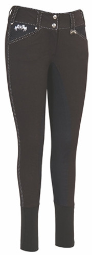 Equine Couture Blakely Full Seat Breeches - black