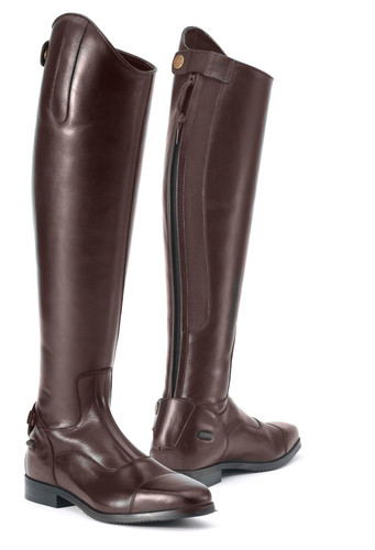 Ovation® Olympia Tall Show Boots - brown
