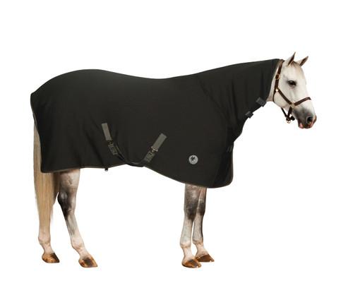 Turbo Dry Contour Neck Sheet - black