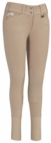 Equine Couture Blakely Breeches - safari