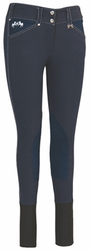 Equine Couture Blakely Breeches - navy