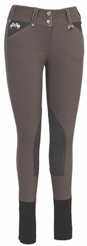 Equine Couture Blakely Breeches - charcoal