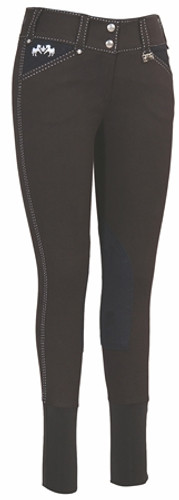 Equine Couture Blakely Breeches - black