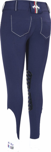 Equine Couture Darsy Breeches - navy - back