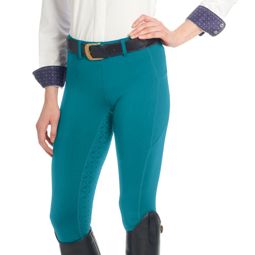 Ovation Ladies AeroWick Silicone Full Seat Tights - dark teal
