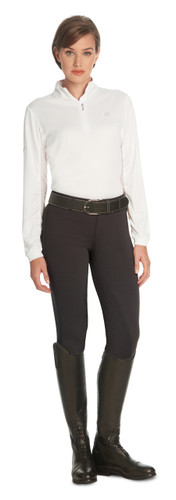 Ovation Ladies AeroWick Silicone Full Seat Tights - mocha