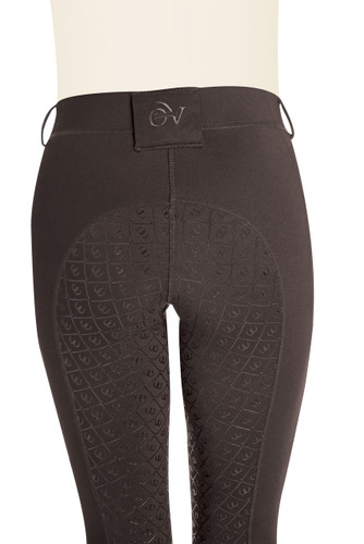 Ovation Ladies AeroWick Silicone Full Seat Tights - mocha - back