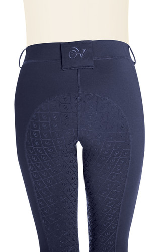 Ovation Ladies AeroWick Silicone Full Seat Tights - navy - back