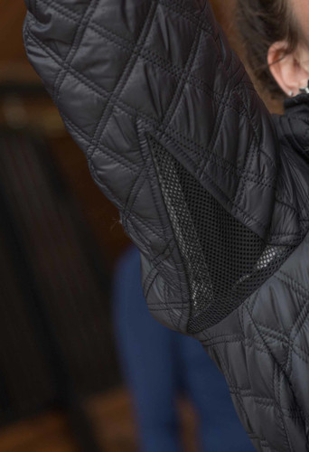 FITS Frankie-2 Quilted Jacket - underarm mesh gusset