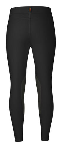 Kerrits Cross Over II Knee Patch Breeches  - black - back