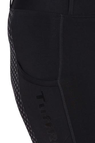 TuffRider Ladies 3 Season Riding Tights - black - detail