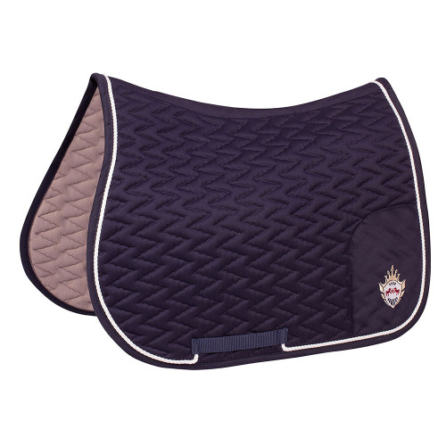 Equine Couture Wellington All Purpose Saddle Pad - navy
