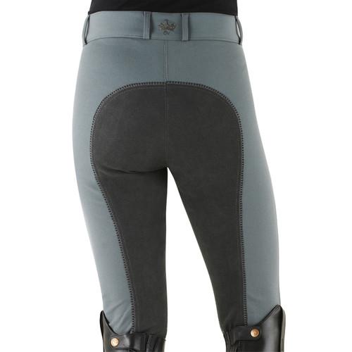 Ovation® Celebrity EuroWeave™ DX Full Seat Breeches - grey
