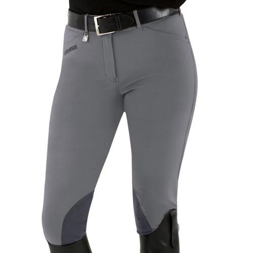 Romfh Champion Euro Seat Breeches - steel grey
